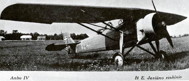 Antanas Gustaitis – pirmojo lietuviško lėktuvo ANBO kūrėjas
