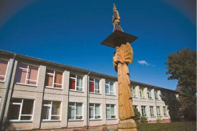 Igliaukos Anzelmo Matučio gimnazija pastaraisiais metais patiria daugybę permainų, prie jos vis prijungiama naujų skyrių.