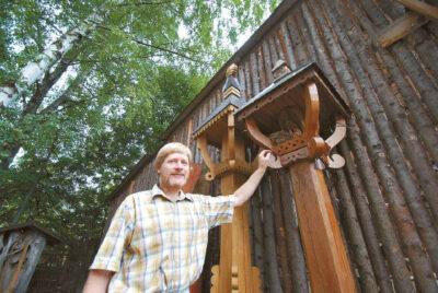 Algimantas Sakalauskas sako, kad tradicinė mažoji medinė lietuvių architektūra iš tiesų turi stiprių energetinių savybių.