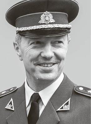 Savanorio anūkas, atsargos pulkininkas Eugenijus Vosylius.