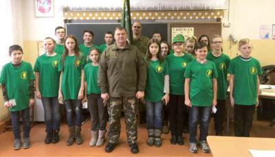 Įsisteigė Liubavo Juozo Montvilos pagrindinės mokyklos jaunųjų šaulių būrelis.