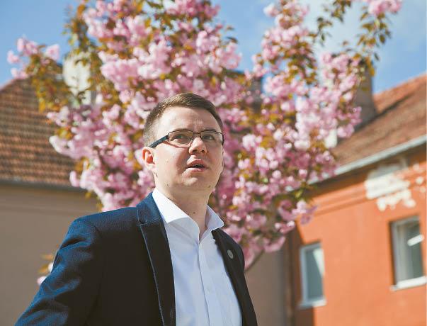 """Paulius Čeponas: """"Džiaugiuosi galėdamas kurti savo miesto grožį"""""""