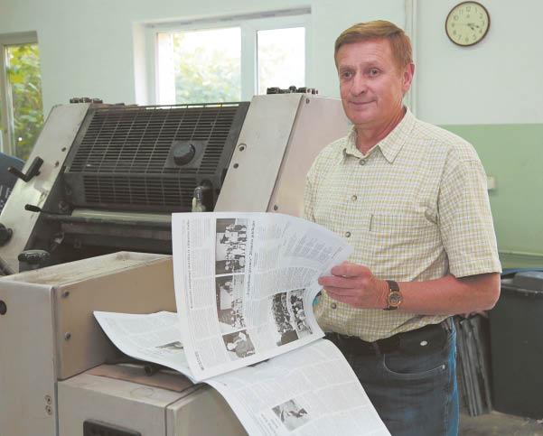 Su spauda – beveik 50 metų