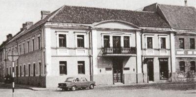 Pastatas Kaune, kuriame buvo Saliamono Banaičio spaustuvė.