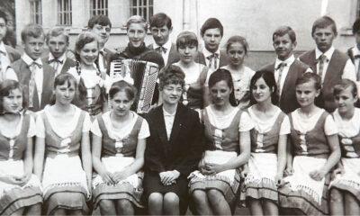 Mokytojos Danutės paruoštas 4-os vidurinės mokyklos šokių kolektyvas 1968 m. dalyvavo Lietuvos dainų ir šokių šventėje.