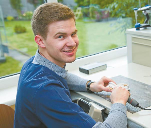 Svajonių darbas – dantų techniko