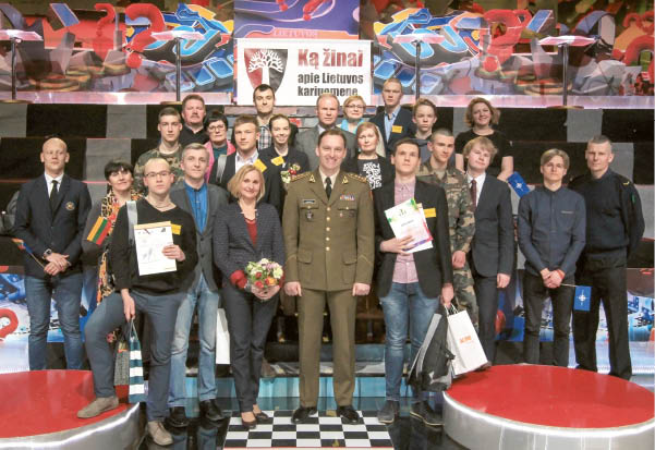Tarp geriausių Lietuvos kariuomenės istorijos žinovų – ir moksleivė iš Kalvarijos