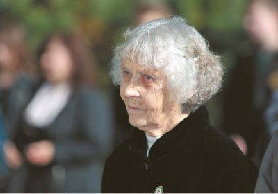 Alva Sidaravičienė-Bedalė visada laikė savo pareiga įamžinti žuvusiųjų už laisvę atminimą.
