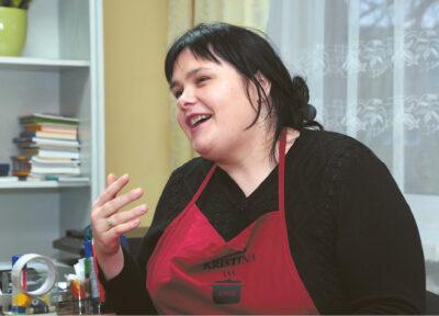 K. Dembinskienės teigimu, maisto gamyba ir šeima yra didžiausios jos gyvenimo aistros.