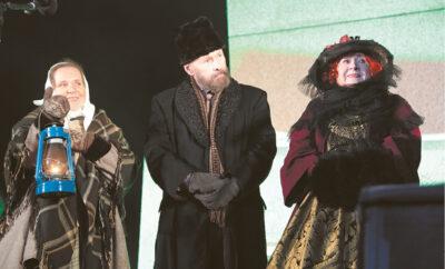 """Žemaitė, Jonas Jablonskis ir grafienė P. Butlerienė """"susitiko"""" sausio 20-ąją."""