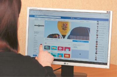 """""""Suvalkiečio"""" redakcija irgi turi savo profilį socialiniame tinkle """"Facebook""""."""