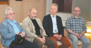 Šių metų jubiliatai: Justinas Prakapas, Alius Berdenkovas, Kęstutis Balčiūnas, Deimantas Populaigis.