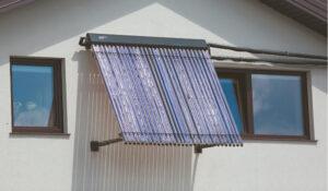 Lietuvos gyventojai kol kas saulės energiją daugiausia naudoja namų ūkyje naudojamam vandeniui šildyti.