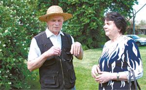 Birutė Švagždienė ir Algimantas Lanauskas Anzelmui Matučiui skirtuose renginiuose susitinka jau daug metų.