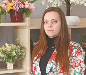 Marijampolės kolegijos absolventė Giedrė Čepauskienė džiaugiasi galėjusi pradėti verslą Marijampolėje.