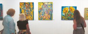 Impresijos ir ekspresija, spalvų siausmas – naujausiuose darbuose.