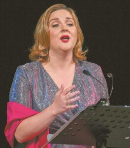 Koncerte Laura jausmingai atliko sudėtingus kūrinius.