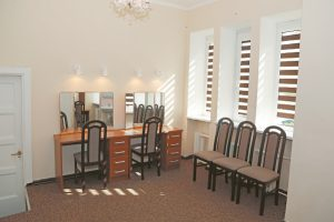 Po vasaros naujumu šviečia grimo kambariai, kitos patalpos.