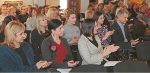 Konferencijoje dalyvavo daugiau nei šimtas vaikų ir jaunimo ateičiai neabejingų Marijampolės savivaldybės pedagogų, socialinių darbuotojų.