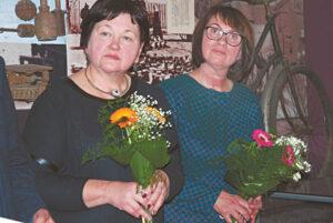 Danutė Katkuvienė ir Audronė Šlyterienė pristatė keletą metų brandintą projektą.