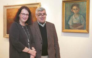 Parodą pristatė menotyrininkė, VDU profesorė Rasa Žukienė ir Nacionalinio M. K. Čiurlionio muziejaus direktorius Osvaldas Daugelis.