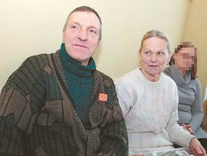 Vida ir Juozas Ulevičiai šventėse pamiršta rūpesčius.