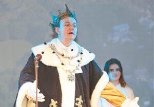 Į iškilmes atvyko ir karalius Liudvikas, Liudvinavo įkūrėjas.