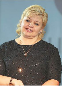 Liudvinavo  seniūnė  Jolanta  Maceikienė.