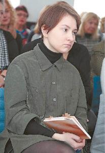 Aktorė Gabrielė Penčylaitė.