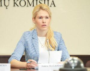 Vyriausiosios rinkimų komisijos pirmininkė Laura MATJOŠAITYTĖ