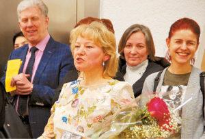 Regina Petruškevičiūtė negailėjo gerų žodžių ir mokytojams, ir bendraminčiams kolegoms.