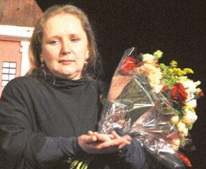 Milda Mažėtytė-Antanauskienė – scenarijaus autorė ir režisierė, sulaukusi padėkų ir komplimentų.