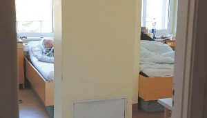 Vytas buvo gydomas Marijampolės ligoninės Psichikos ligų skyriuje.