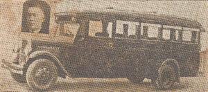 Tokį modernų autobusą ketvirtojo dešimtmečio pradžioje buvo įsigijusi Marijampolės karių savanorių grupė.
