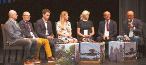 """Diskusijos """"Idėja Lietuvai. Idėja Prienams"""" dalyviai pažėrė daug minčių apie tai, kaip Prienai galėtų tapti patrauklesni turistams."""