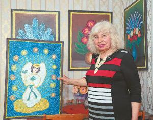"""""""Mano misija – tapyti angelus, kurie ne tik mane, bet ir visus globoja"""", – sako Liucija Šalaševičienė."""