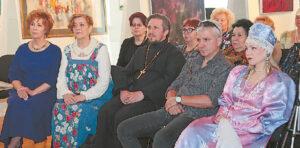 Tarp svečių – pravoslavų dvasininkas Igoris Rinkevič.
