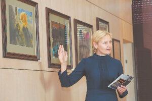 Aušrinė Dubauskienė, pristatydama kraštiečius, rėmėsi savo įspūdžiais ir įžvalgomis.