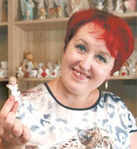 """""""Viskas prasidėjo nuo šito mažo angeliuko"""", - sako Nijolė Birštonienė."""