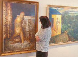Beatričės Kleizaitės-Vasaris menų galerijoje.