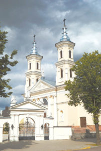 Į dangų stiebiasi Kalvarijos bažnyčios bokštai...