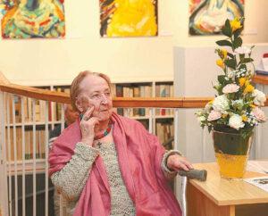 Beatričei Kleizaitei-Vasaris buvo nuoširdžiai dėkota už mecenatystę, už dalyvavimą kultūriniame gyvenime.