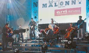 Instrumentinį ansamblį, atliekantį eksperimentinę įvairių stilių ir žanrų muziką, Tom Chiu (kairėje) subūrė Lietuvoje.