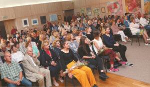 Koncertu susidomėjo įvairaus amžiaus klausytojai.