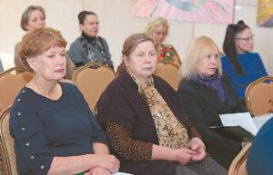 Konferencijos viešnios Nijolė Nevčesauskienė, Audronė Petrašiūnaitė ir Rūta Katiliūtė.