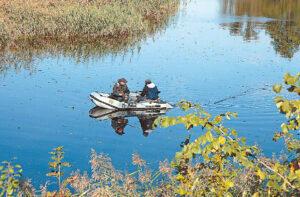 Kai upės ar ežero vandens ekologinė būklė yra bloga arba labai bloga, žvejoti ar valgyti ten sugautą žuvį nepatariama.