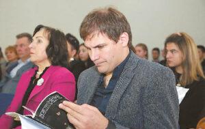 Prezidento Valdo Adamkaus bibliotekos-muziejaus vadovas Arūnas Antanaitis.