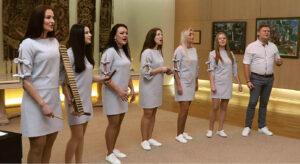 """Kultūros centro mišrus vokalinis ansamblis """"Savito"""" atstovaus Marijampolei zoniniame konkurse."""