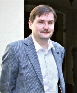 Dr. Andrius VAIŠNYS, Vilniaus universiteto profesorius, žurnalistikos ir politinės komunikacijos tyrėjas. Adomo Taraskevičiaus nuotrauka