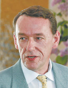 """""""Naujajame kelyje"""" laiškų ir kultūros skyrių vedėju nuo 1988 iki 1991 metų dirbęs Algis Vaškevičius sako, kad vietos sąjūdiečių atstovaujamai nuomonei laikraštyje anuomet atsirasdavo."""